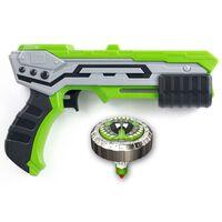 Silverlit Spinner Mad Single Shot Blaster Thunder Green