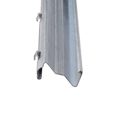 vidaXL 10 pcs Fence Posts Galvanised Steel 2 m