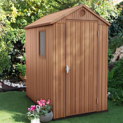 Keter Garden Shed Darwin 4x6 Woodlook