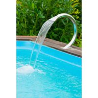 Ubbink Shower Mamba 14.5x46.5x50cm Steel