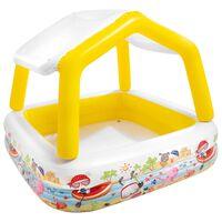 Intex Inflatable Sunshade Pool 157x157x122 cm