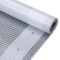 vidaXL Leno Tarpaulin 260 g/m² 4x10 m White