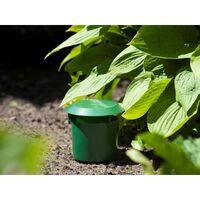 428538 Nature Slug Trap Set 2 pcs 11x11,5 cm Green