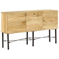 vidaXL Sideboard Solid Mango Wood 118x30x70 cm