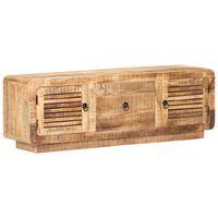 vidaXL TV Cabinet 120x30x40 cm Rough Mango Wood