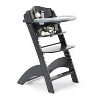 CHILDHOME 2-in-1 Baby High Chair Lambda 3 Anthracite