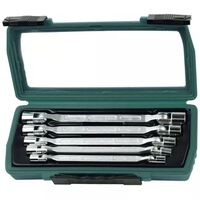 Brüder Mannesmann Five Piece Double-ended Swivel Spanner Set 19821
