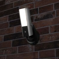 Smartwares Guardian Security Camera and Light 6.38x7x18.07 cm Metallic Silver