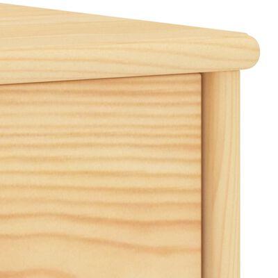 vidaXL Bedside Cabinets 2 pcs Light Wood 35x30x40 cm Solid Pinewood