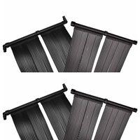 vidaXL Solar Pool Heater Panel 4 pcs 80x620 cm
