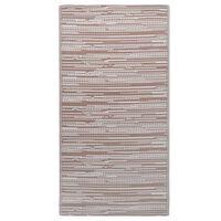 vidaXL Outdoor Carpet Brown 80x150 cm PP