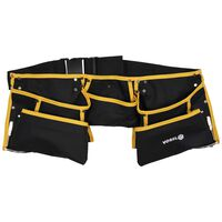 VOREL Tool Belt with Fixed Bags Polyester