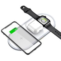 2 in 1 rapid wireless charger for smartphone and Apple Watch