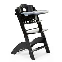 CHILDHOME 2-in-1 Baby High Chair Lambda 3 Black