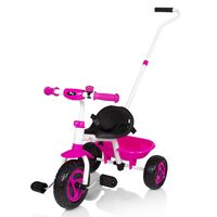 Billy Kid's Tricycle Berry Pink and White