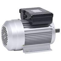 vidaXL Single Phase Electric Motor Aliminium 2.2kW/3HP 2 Pole 2800 RPM