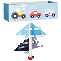 roba Wall Hanger with Storage Racer Wood