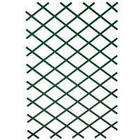 Nature 2 pcs Garden Trellises 100x200 cm PVC Green