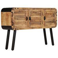 vidaXL Sideboard Solid Mango Wood 120x30x76 cm
