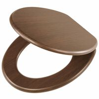 Tiger Soft-Close Toilet Seat Douglas MDF Light Brown 251675346