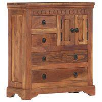 vidaXL Sideboard 62x30x75 cm Solid Acacia Wood