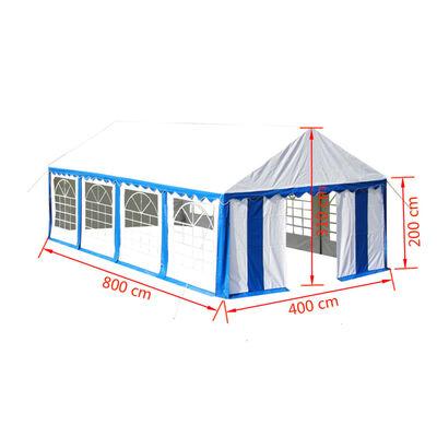 vidaXL Party Tent 4 x 8 m Blue