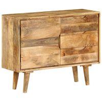 vidaXL Sideboard Solid Mango Wood 90x30x69 cm