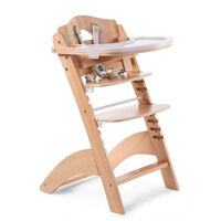 CHILDHOME 2-in-1 Baby High Chair Lambda 3 Natural