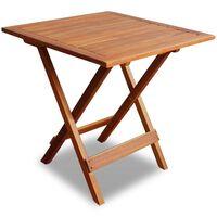 vidaXL Bistro Table 46x46x47 cm Solid Acacia Wood