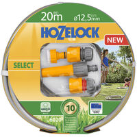 Hozelock Watering Hose Select 20 m with Starter Set