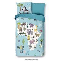 Good Morning Kids Duvet Cover Wild Life 140x200/220 cm