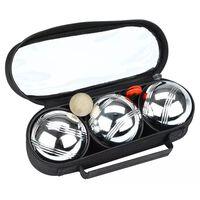 Get & Go Jeu De Boules Set III 3 Balls Silver CGB 52JO-CGB-Uni