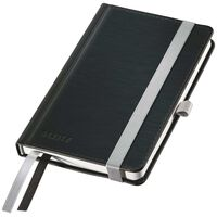 Leitz Style Notebook A6 Ruled Black