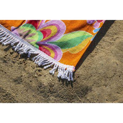 Happiness Beach Towel ZABRINA 100x180 cm Orange