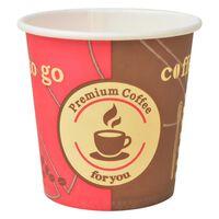 vidaXL 1000 pcs Disposable Coffee Cups Paper 120 ml (4 oz)
