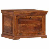 vidaXL Shoe Cabinet 60x40x41 cm Solid Acacia Wood