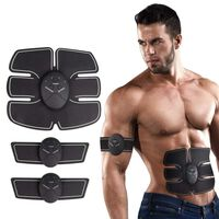 Belt for Abdominal Muscle Toner Unisex Fitness Gear - Battery
