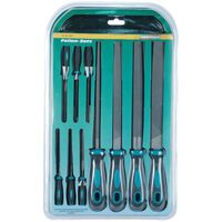 Brüder Mannesmann 10 Piece Engineer's and Needle File Set 61015
