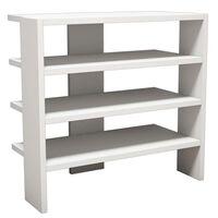 Homemania Shoe Cabinet Mix 63.6x31.8x60 cm White