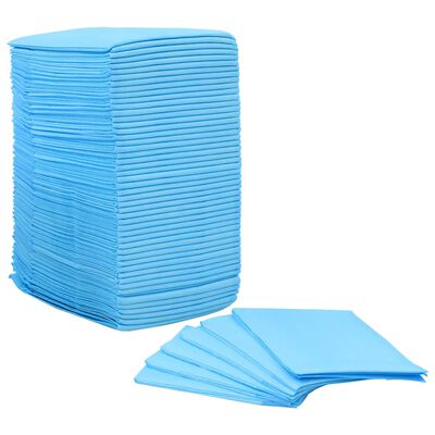 vidaXL Pet Training Pads 100 pcs 90x60 cm Non Woven Fabric