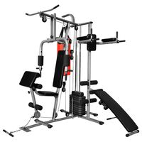 Multi-functional Home Gym with 1 Boxing Bag 65 kg