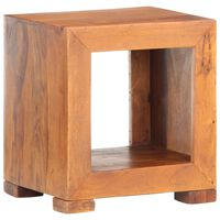 vidaXL Side Table 37x29x40 cm Solid Sheesham Wood