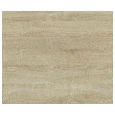 vidaXL Bookshelf Boards 8 pcs Sonoma Oak 60x50x1.5 cm Chipboard