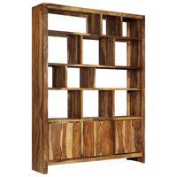 vidaXL Bookshelf Solid Sheesham Wood 150x35x200 cm