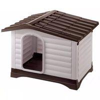 Ferplast Doghouse Villa 90 Grey 88x72x65 cm 87255099