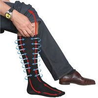 Travelsafe Travel Pressure Socks 39-42 TS0370M