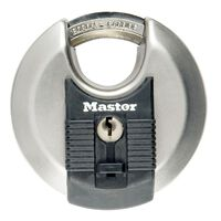 Master Lock Discus Padlock Excell Stainless Steel 80 mm M50EURD