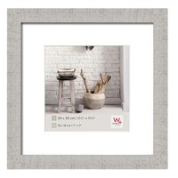 Walther Design Picture Frame Home 30x30 cm Light Grey