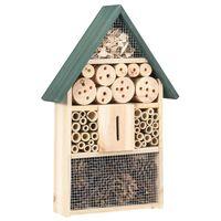 vidaXL Insect Hotel 31x10x48 cm Firwood