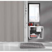 Kleine Wolke Shower Curtain Kito 180x200 cm Grey